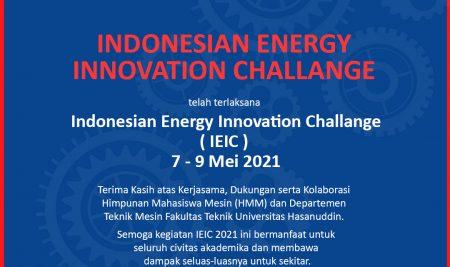 Indonesian Energy Innovation Challenge (IEIC) 2021